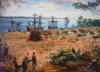 Depiction Of Jamestown