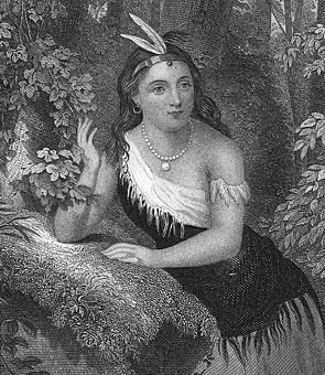 1613 Pocahontas Marries John Rolfe Savages Scoundrels