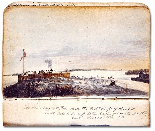 Outpost Of The Hudson Bay Company