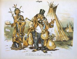 Indian Removal Cartoon