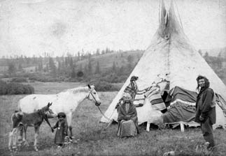 Nez Perce Family